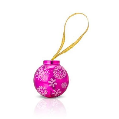 Metallic Bauble Christmas Snowflake Lip Gloss Mad Beauty 4.5g (1 Supplied)
